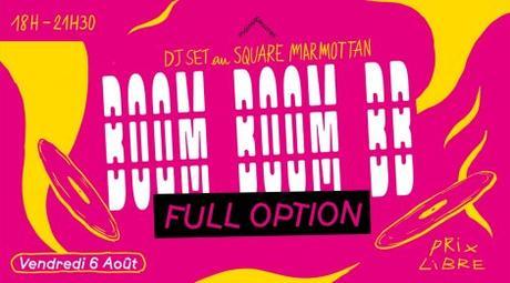 BOOM BOOM BB W/ DJ FULL OPTION, square marmottan