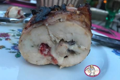 Saltimbocca de poulet à la napolitaine au barbecue