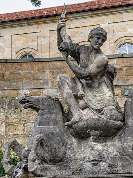 Bayreuth — Wittelsbacherbrunnen — La fontaine Wittelsbach