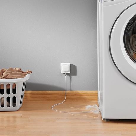 salle de bain connectée machine à laver détecteur fuite - blog déco - clem around the corner