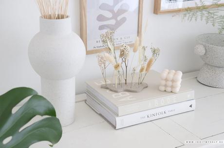 DIY : Support fleurs séchées