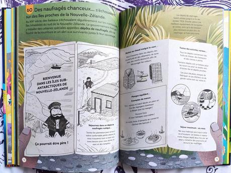 100 infos insolites sur les océans. Editions Usborne – 2021 (Dès 8 ans)