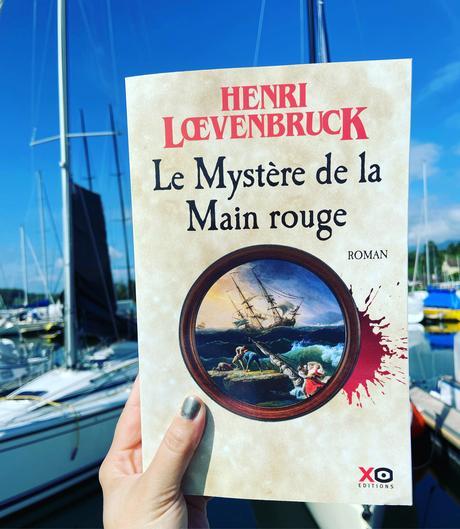 J'ai lu: Le mystère de la main rouge d'Henri Loevenbruck