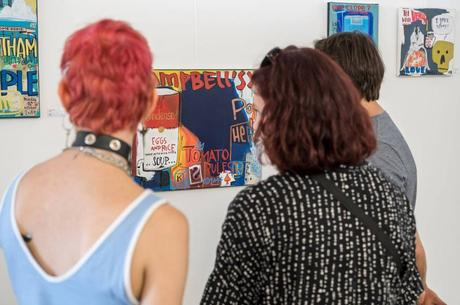 Les images de l'exposition à la cité des Halles