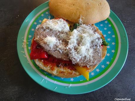 Panino pastrami italien