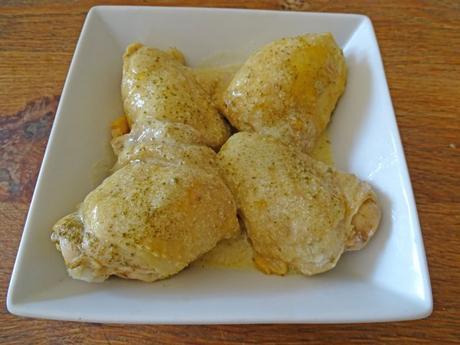 Poulet extra moelleux et sa sauce moutarde (divine)