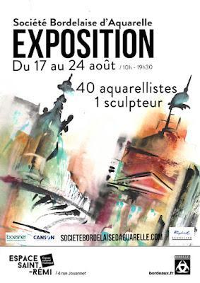Encore quelques jours avant le fin de l'exposition à St Rémi Bordeaux!! voir l'article de journal ci dessous!