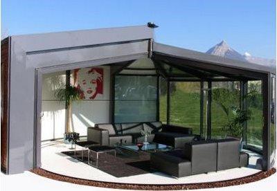 opensun d 39 ak na une v randa ouverture int grale paperblog. Black Bedroom Furniture Sets. Home Design Ideas