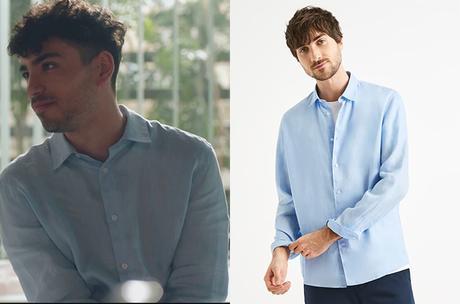 DEMAIN NOUS APPARTIENT : la chemise bleue de Clément dans l'épisode 1001