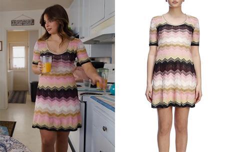 IL EST TROP BIEN : la robe à zigzag de Padgett