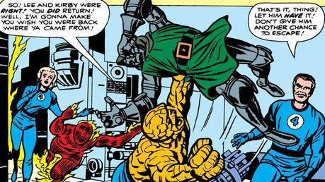 Illustration de Mighty Marvel Masterworks Fantastic Four Vol. 1