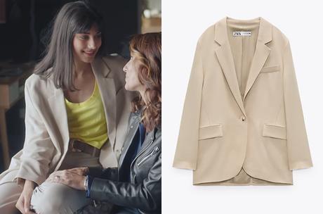 DEMAIN NOUS APPARTIENT : le blazer beige de Camille dans l'épisode 1003