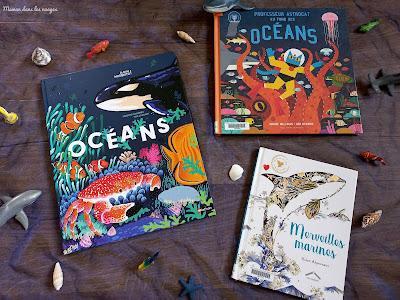 A la découverte des océans {sélection de livres}