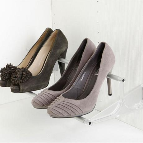 porte chaussure malin talon optimisation réussir aménagement placard