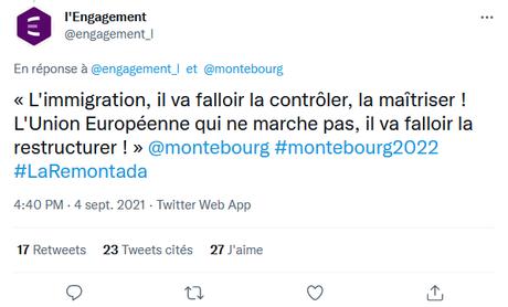 Quand le discours fauxcialiste ressemble comme deux gouttes d'eau à celui du Rassemblement National… #montebourg