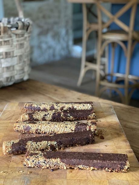 Barres de céréales au chocolat