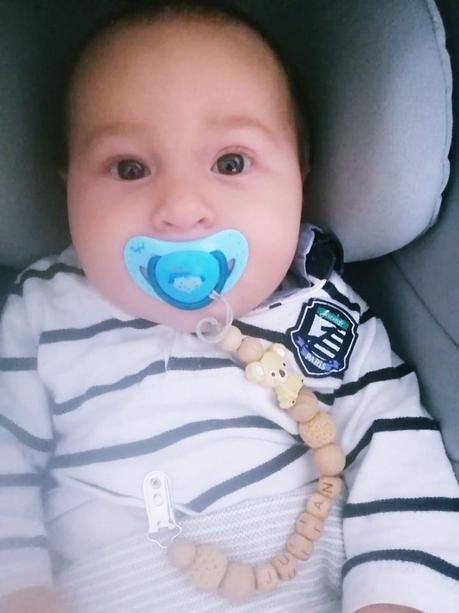 Joyeux 5 mois bébé Julian