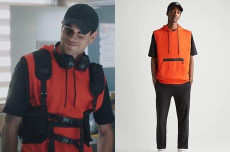 DEMAIN NOUS APPARTIENT : le hoodie orange de Damien dans l'épisode 1007