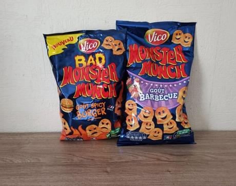 Spicy Burgeret Barbecue MONSTER MUNCH