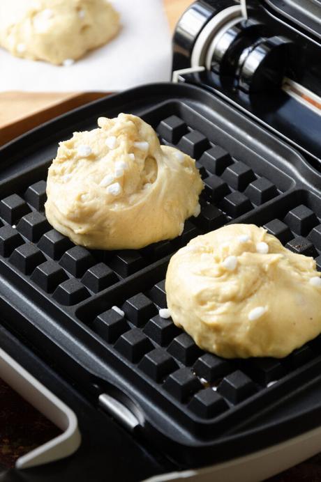 recette traditionnelle pâte à gaufres liégeoises sucre perlé