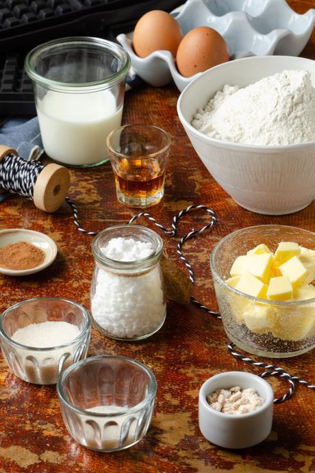 ingrédient recette gaufre liégeoise fait-maison beurre