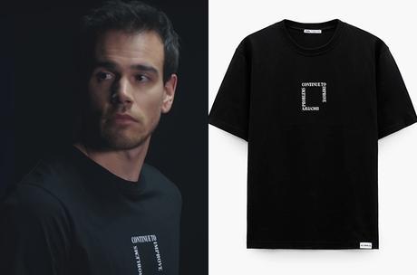 DEMAIN NOUS APPARTIENT : le t-shirt noir de Damien dans l'épisode 1008