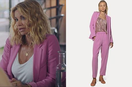 DEMAIN NOUS APPARTIENT : le blazer rose de Chloé dans l'épisode 1010