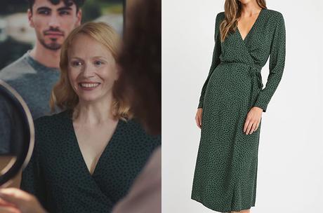 DEMAIN NOUS APPARTIENT : la robe verte de Lætitia dans l'épisode 1012