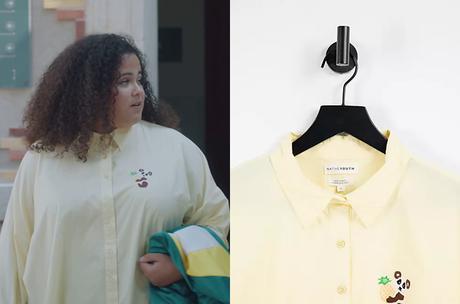 DEMAIN NOUS APPARTIENT : la chemise panda à l'ananas de Lizzie dans l'épisode 1011