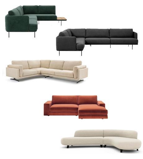 Canapé d'angle salon appartement maison aménagement décoration choisir emplacement