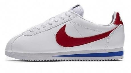 sneakers Nike Cortez blanche pour homme