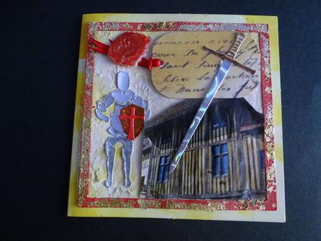 Echange Moyen-Age : carte, atc et memory card .