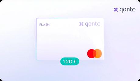 Qonto – Carte Flash