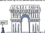 L'Arc triomphe emballé Christo...