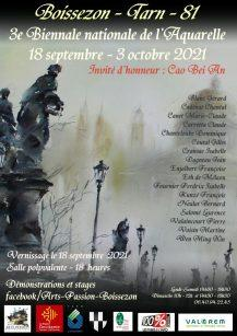 Biennale d'aquarelle de Boissezon (Tarn)