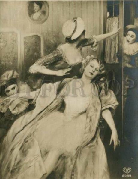 Pierre Carrier Belleuse 1910 Pierreits et Colombines