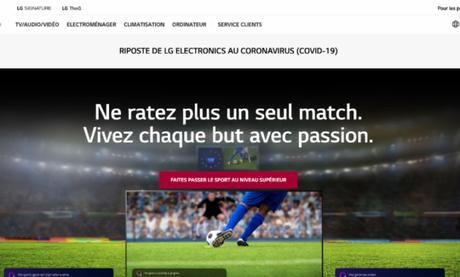 LG Afrique lance son site internet en Français