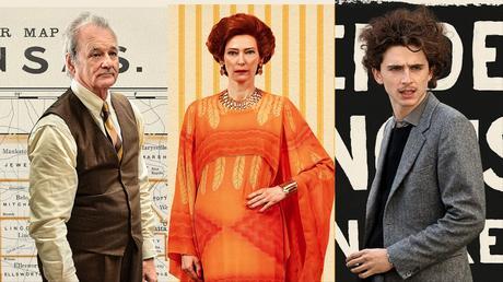 Affiches personnages US pour The French Dispatch de Wes Anderson