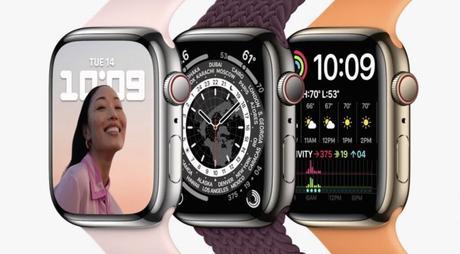 Apple Watch 7 : tout en rondeurs mais plus robuste