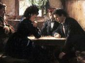 Partie d'échecs Franz Defregger (1885)