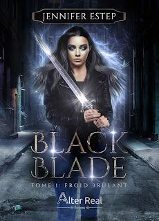 Black blade #1 Froid brulant de Jenifer Estep