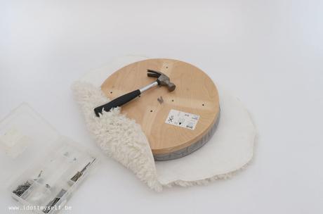 DIY TABOURET IKEA