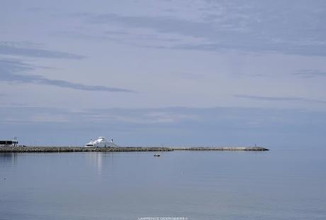 Le port de Matane…