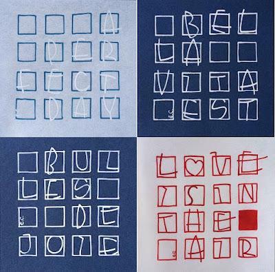 Petites compositions en monoligne