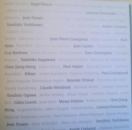 La Galerie TAMENAGA 50me anniversaire