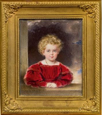 François-Joseph à l'âge de 5 ans