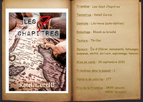 Les Sept Chapitres - Katell Curcio