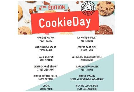 Cookie Day - Adresses