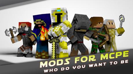 Code Triche Mods for Minecraft PE by MCPE APK MOD (Astuce) 3