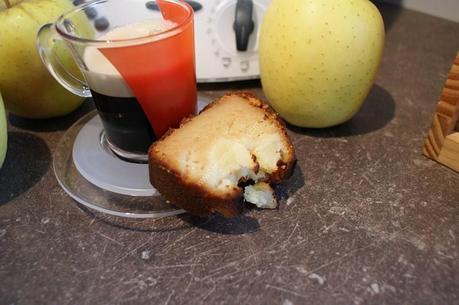 recette du jour: Cake au pomme  au thermomix de Vorwerk